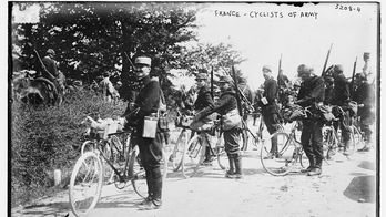 The forgotten role of the bicycle in wartime: How soldiers rode into action on two wheels