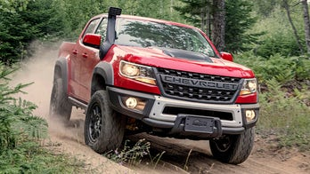 The Chevrolet Colorado ZR2 Bison is an extreme off-road machine