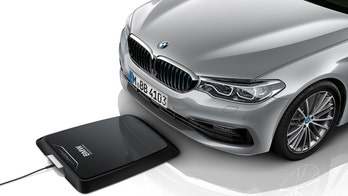 BMW first on the market with wireless charger for cars