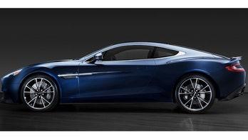 Daniel Craig's Aston Martin Vanquish heads to charity auction