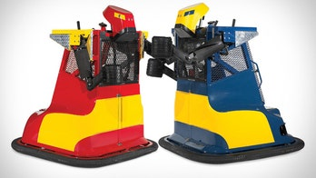 The $17,000 Boxing Robot You Climb Into