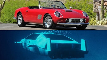 Ferris Bueller's fake Ferrari and James Bond's submersible Lotus up for auction