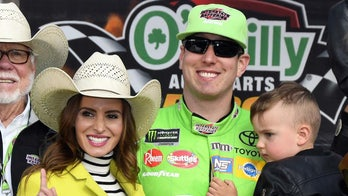 NASCAR driver Kyle Busch's wife, Samantha, opens up about IVF and life on the road