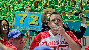 Hot dog champ Joey Chestnut calls sportswriter 'narrow-minded' for bad-mouthing competitive eating