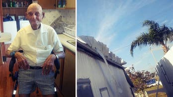 World War II veteran faces eviction for lingering Hurricane Irma damage before community steps up