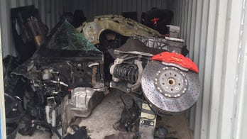 Police discover dismantled $200,000 Ferrari in chop shop