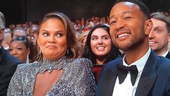 Chrissy Teigen addresses viral Emmys cringe-face meme: 'You guys are brutal'