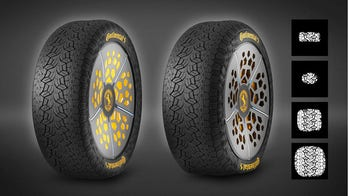 Continental looks to improve safety with its latest tire concepts