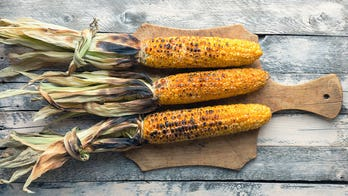 The best way to grill corn? With the husks still on