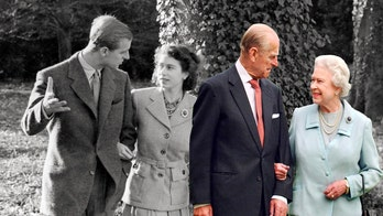 Queen Elizabeth's lasting marriage to Prince Philip haunted by rumored affair with showgirl, book claims