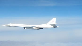 Russian bombers intercepted by British jets after ignoring air traffic control, UK says