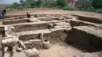 Massive ancient building discovered in Egypt