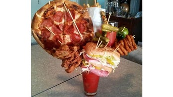 Los Angeles man creates most epic Bloody Mary ever