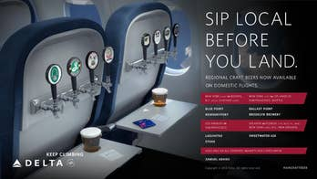Delta now offering craft beers on flight—free on shuttle service