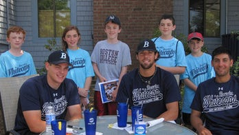 Taking the Kids -- and meeting future baseball superstars on Cape Cod