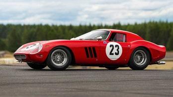 Rare 1962 Ferrari 250 GTO sold for world-record $48.4 million