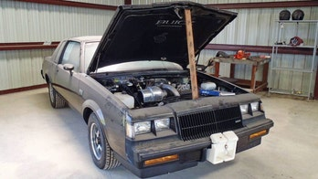 Time capsule 1987 Buick Grand National being auctioned on Ebay