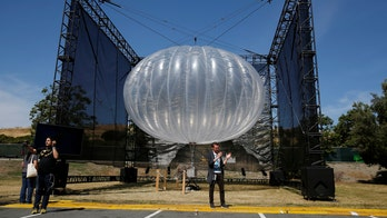 'UFO' found in Congo turns out to be Project Loon balloon