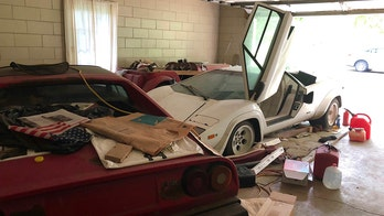 Woman uncovers amazing exotic car collection in grandmother's garage
