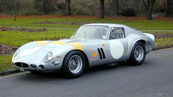 Classic 1963 Ferrari 250 GTO sold for record $70 million