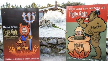 New Zealand tourist attraction removes racially 'offensive' and 'grotesque' sign after complaints