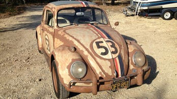 """""""Herbie The Love Bug"""" sold for $32,100"""