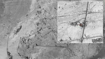 Israeli army reveals images allegedly showing Iran's involvement in Syria