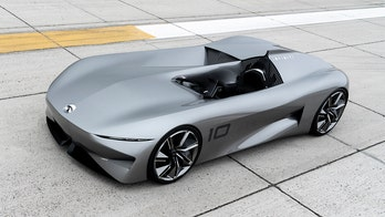 Radical speedster concept hints at future design, powertrains for Infiniti