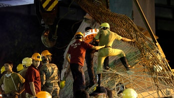 Five building officials detained for Indian overpass collapse that killed 24