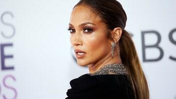 Jennifer Lopez shares photos without her $1M engagement ring on 'Shotgun Wedding' set