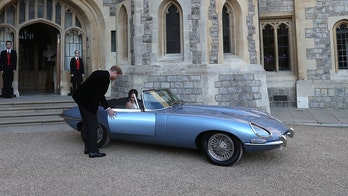 Harry and Meghan's blue Jaguar is a $500,000 green machine