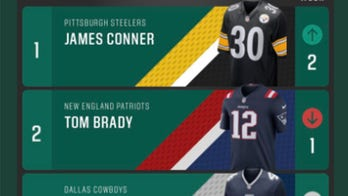 Cancer survivor has top-selling jersey in NFL
