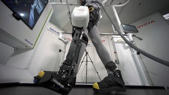 Toyota introduces robotic leg brace to help paralyzed people walk