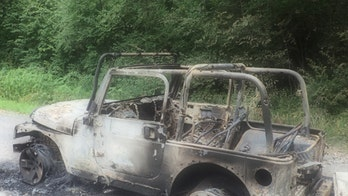 Authorities investigate Jeep Wrangler burned in fireworks fiasco