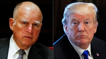 California Gov. Brown on Trump: 'Something's got to happen to this guy...he's going to undermine America'