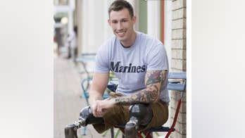 Wounded veteran Johnny 'Joey' Jones: 'The Rebel flag doesn't have a place in our culture'