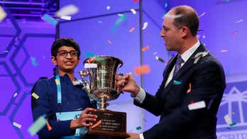 Spelling bee winner is 14-year-old Texan who spelled 'koinonia' correctly