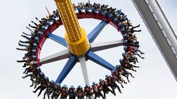 Six Flags' new 'Wonder Woman Lasso of Truth' is world's tallest pendulum ride