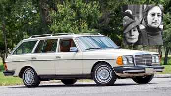 John Lennon's last car was a Mercedes-Benz 300 TD Wagon, and you can buy it