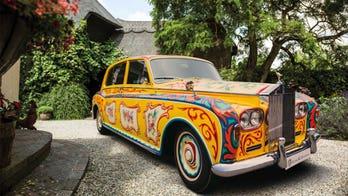 John Lennon's original Rolls-Royce hitting London in honor of 'Sgt. Pepper's' anniversary
