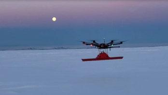 'Lost Squadron' WWII warplane discovered deep beneath a Greenland glacier