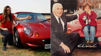 Woman reunited with Lotus Elise sports car named after her 22 years ago