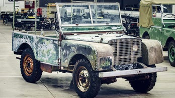 The car that launched Land Rover spent almost 30 years hiding in a garden