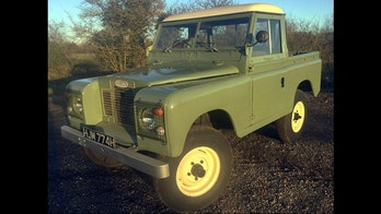 Land Rover from 'Peter Rabbit' to hop on the auction block