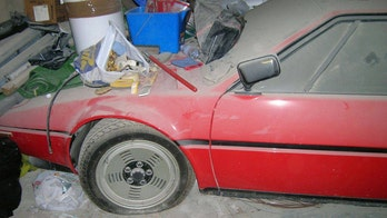 BMW M1 supercar left to rot in 1982 now on sale for a small fortune