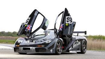 Pink Floyd drummer Nick Mason crashes multi-million dollar McLaren F1 GTR