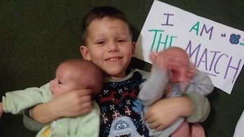Infant twin boys get life-saving bone marrow donation from 4-year-old big brother