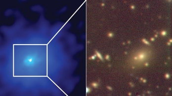 Sprawling galaxy cluster discovered 'hiding in plain sight'