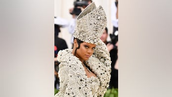 Rihanna's Met Gala outfit featured borrowed papal miter, New York's Cardinal Dolan jokes