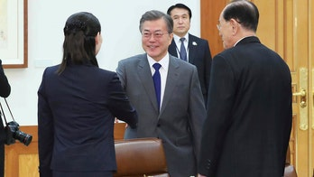 Kim Jong Un's sister keeps lunch date with South Korea's president